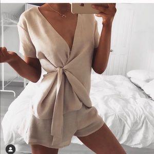 Sabo skirt set